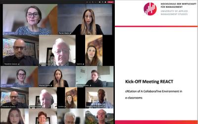 REACT – Kick-off Meeting