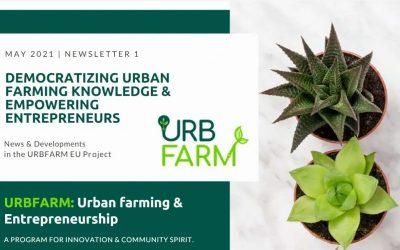 UrbFarm – Newsletter Issue I